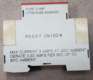 Lot of 4 Crouzet Gordos GMS-ODC 84130104 Relay Modules 3 Amp 5-48 VDC Output