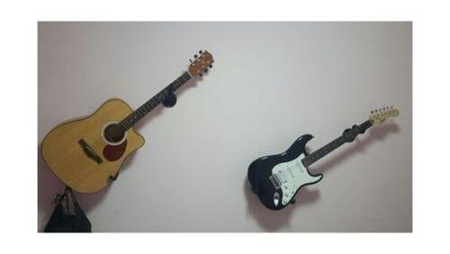 Guitar Wall Hanger Slatwall Horizontal Guitar Holder Bass Stand Rack Hook