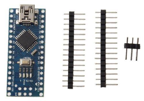 Nano 3.0 Atmel Atmega 328P Mini-USB Board Para Arduino chip de 46 un