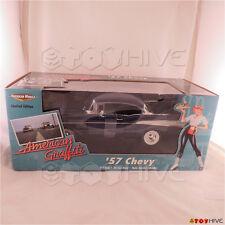 1957 57 Chevy 2 door diecast model car American Graffiti ERTL 1:18 scale