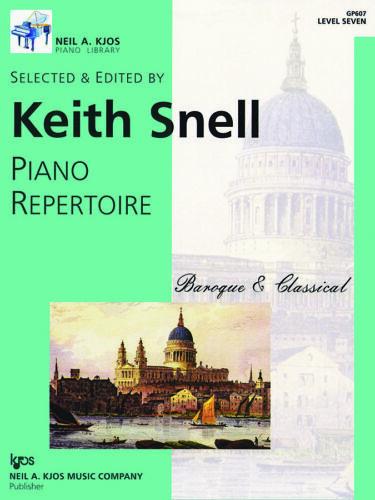 Keith Snell Piano Repertoire Level 7 Baroque /& Classical