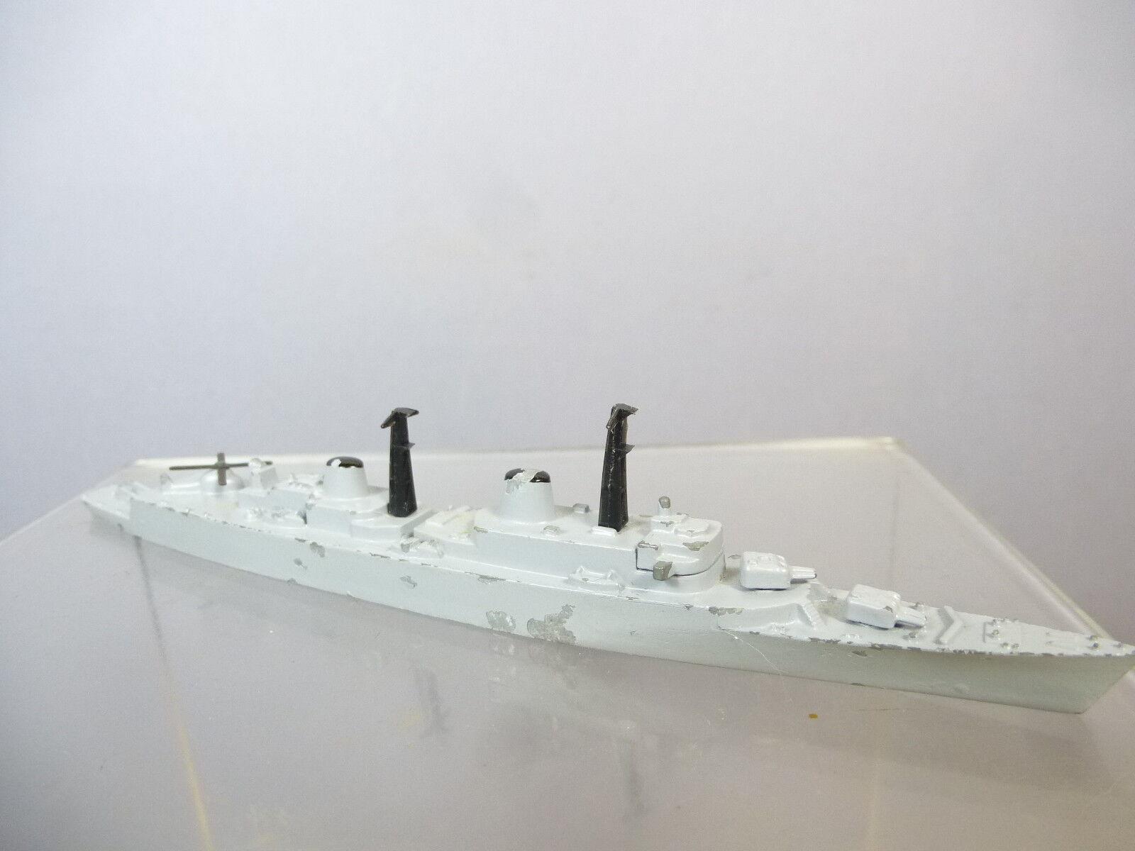 Vintage Tri-ang Minic Línea De Flotación Modelo No.786  HMS London  destructor de misiles