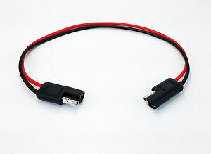 Details about 10 Gauge 2 Pin Quick Disconnect Wire Harness - SAE Connectors on
