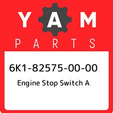 GENUINE OEM YAMAHA ENGINE STOP SWITCH 6K1-82575-00-00