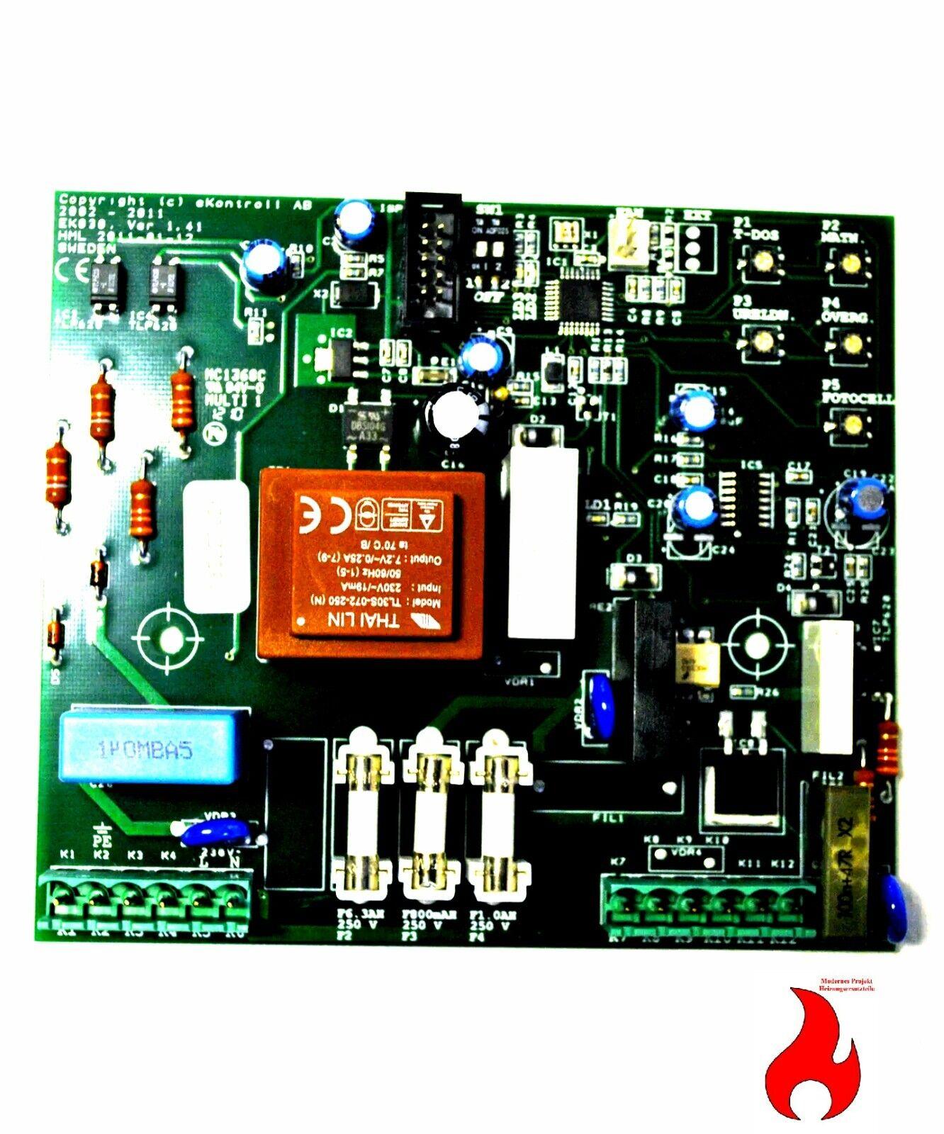Iwabo Ersatzteil Steuerplatine 1.4-1.4.1 für Iwabo Pelletbrenner Villa S S1 S1X