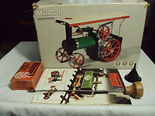 Mamod Toy Steam Tractor in Original Box w/All of the Accrssories TE-1a