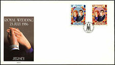 Jersey 1986 Royal Wedding FDC First Day Cover #C42257