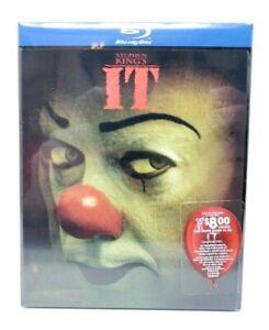Stephen-King-039-s-IT-Blu-ray-RARE-Lenticular-Slipcover-Version-NEW-SEALED