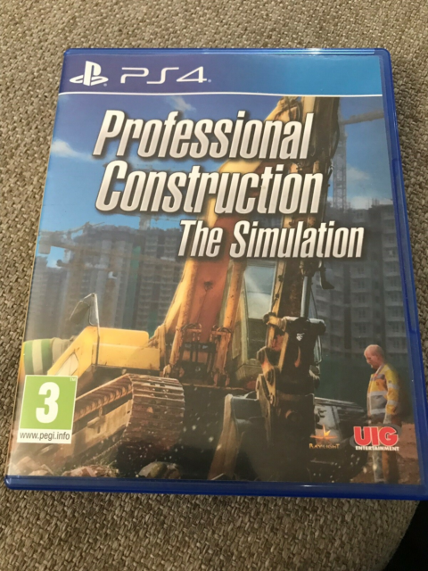 Professional Construction The Simulation, PS4, simulation,…