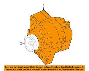 details about toyota oem 10 11 camry 3 5l v6 alternator 2706031082 For a Dodge Charger 3.5L V6 Engine