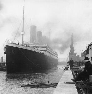 12-4-X6-PHOTOS-TITANIC-OCEAN-LINER-1912-PACK-1-PHOTO