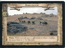 Lord Of The Rings CCG Card TTT 4.U326 Horse Country