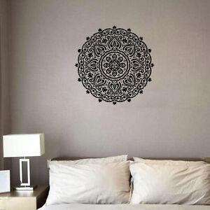 Removable India Mandalas Wall Sticker Living Room Mural Decal Home Decor Art Ebay