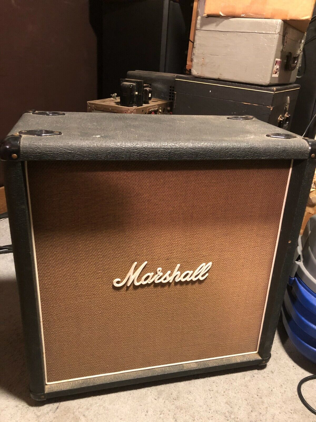 80's Marshall 1965B 4x10 speaker cab. Buy it now for 690.00