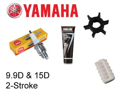 Yamaha 9.9D /& 15D 9.9hp//15hp 2-Stroke Outboard Service Kit 1994 on