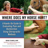 Where Does My Horse Hurt ? Renee Tucker, Dvm - Hardcover Spiral Book