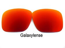 Galaxie Verres De Rechange Pour Oakley Deviation Rouge polarisé 100% UVAB