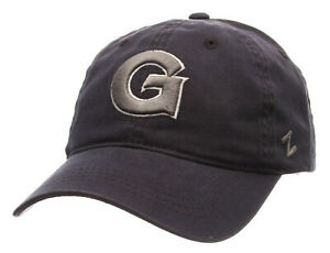GEORGETOWN-HOYAS-NCAA-STRAPBACK-SCHOLARSHIP-RELAXED-DAD-NAVY-BLUE-CAP-HAT-NWT
