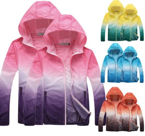 Summer Unisex Slim Sun-proof Hoodies Jackets Sports GYM UV Sunscreen Coat