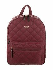 NWT KATE SPADE RIDGE STREET SIGGY BAROQUE RED NYLON BACKPACK $248