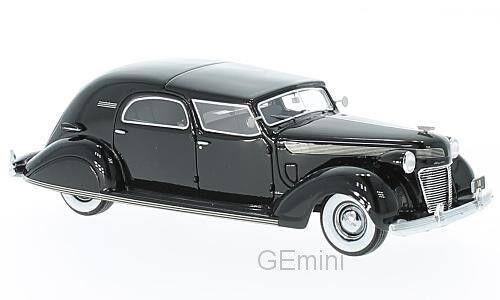 Neo - 46766 - chrysler imperial 15 le baron town car schwarz - 1937 1   43