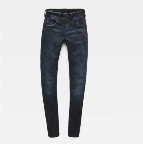 Retail $170 G-STAR RAW Women/'s Lynn Mid Waist Skinny Jeans