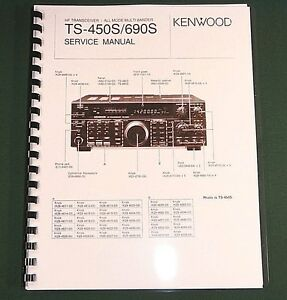 kenwood ts 450s service manual