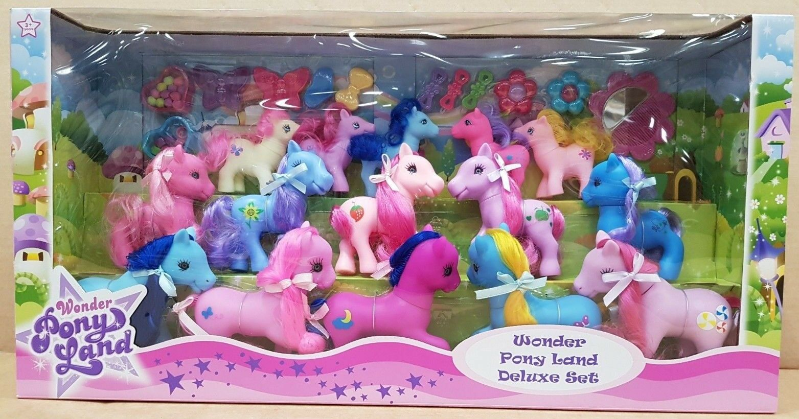 My Little Pony Princess Land Girl's Collection Playset Figures & Accessories