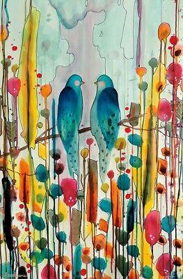 SYLVIE DEMERS 22x34-17482 BIRDS ART POSTER