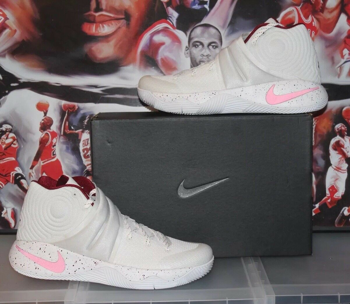 DS Nike Game 6 Unbroken Kyrie 2 Champ Pack NikeID Size 13 Championship 3 5 7