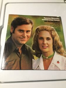 Tammy Wynette And George Jones Lp We Go Together Moving