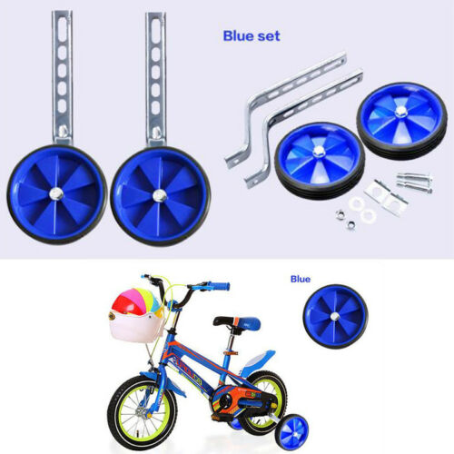 "12/""-20/"" Children Bicycle Bike Training Wheels Adjustable Bike Safety 5 Colors"