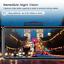 "miniatura 3 - TOGUARD 4K Dual Dash Cam Front Rear GPS Mirror Car Dash Cam 12 ""Cámara táctil ES"