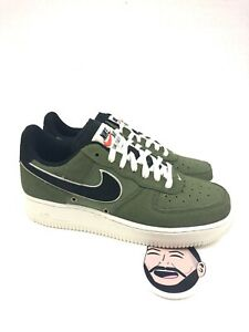 Details about Nike Air Force 1 '07 LV8 Palm Green Leather Mens Nike 718152 308 Mens Size 6.54
