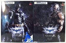Play Arts Kai SDCC Exclusive BATMAN & BANE Dark Knight Trilogy Square Enix