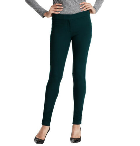 Ann Taylor LOFT Marisa Skinny Pants in Ponte Various Sizes NWT Evergreen Color