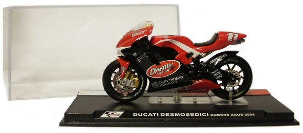 IXO Altaya ALT15 Ducati Desmosedici MotoGP 2004 - Rubens Xaus 1 24 Scale