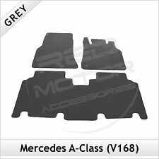 Tailored Carpet Floor Mats for MERCEDES A-Class V168 LWB 2001-2005 GREY