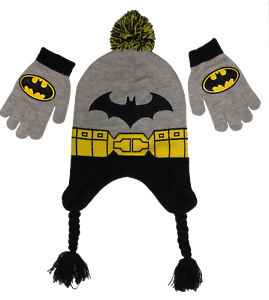 DC Comics Little Boys Batman Peruvian With Glove