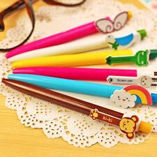 6Pcs/set Ballpoint Pen Cute Animal Ballpen Office School Stationery Supplies