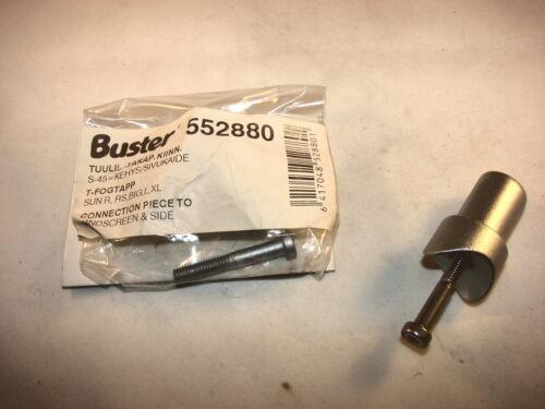 BUSTER Sun R L RS BIG XL 552880 Zapfen für 25mm Rohr Windschutzscheibe  neu