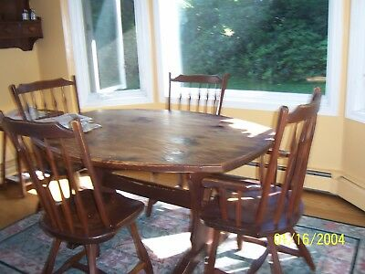 HUNT COUNTRY FURNITURE original classic pine Dining Room Trestle oblong  table | eBay