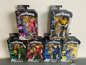 Power Rangers Legacy Collection Zeo Action Figure Set NIB - Unopened Complete