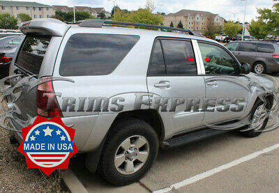 Toyota 2003-2009 4Runner 4Pc High Quality Stainless Steel Chrome Pillar Posts