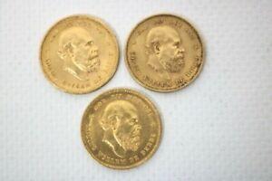 3 x 10 Gulden Niederlande  Gesamtgewicht  20,17