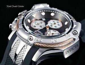 Invicta-Subaqua-Poseidon-Black-Dial-Quartz-Chronograph-Rose-Gold-amp-Silver-Watch