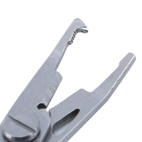 Stainless Steel Fishing Pliers Line Cutter Hook Tackle Tool Accessories S