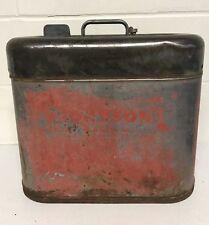 Gasoline Fuel Tank Metal Can Outboard Boat Motor Johnson Vintage Antique 6gallon