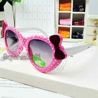 Girls new protective goggle parim vogue eyewear UV400 heat cute sun glasses