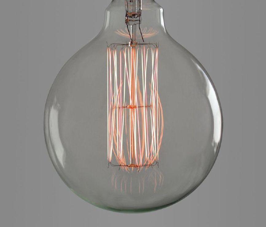 LOT of 20 - Ferrowatt Globe Style Tesla Commemorative Light Bulb